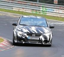 Novi Civic Type-R testiran na stazi u Nirburgring-u