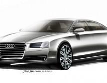 Osvježenje Audi A8 – prve zvanične skice