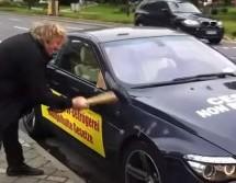 Macolom i sjekirom demolirali nov BMW-a M6 zbog stalnih kvarova i lošeg servisa
