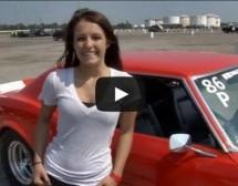 Video: 16-godišnja tinejdžerka u Chevrolet Camaru prešla 402m za 11 sekundi