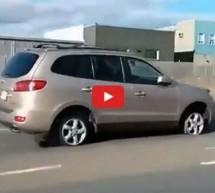 """Video: Upoznajte """"genijalca"""" kojemu ne trebaju gume za vožnju automobila"""