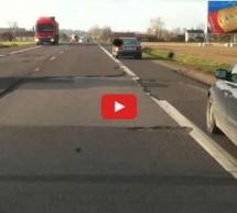 Video: A mislili ste da su naši putevi loši! Pogledajte ovaj horror u Poljskoj!