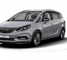 Opel priprema facelift modela Zafira – prvi snimci su pred nama (FOTO)