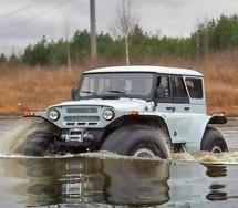 RUSKI MONSTRUM NA 4 TOČKA: Trekol – Proizvedeno u Rusiji (FOTO)