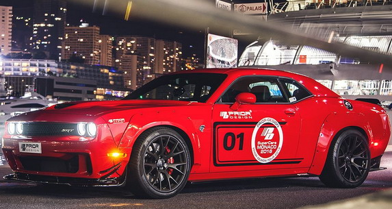 Prior Design Dodge Challenger Hellcat sa 900KS (2)