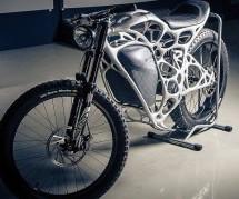NAPREDNA TEHNOLOGIJA: Ovaj funkcionalni električni motocikl nastao je 3D printanjem