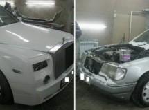 Preradio Mercedes E klase i pretvorio ga u Rolls-Royce (FOTO)