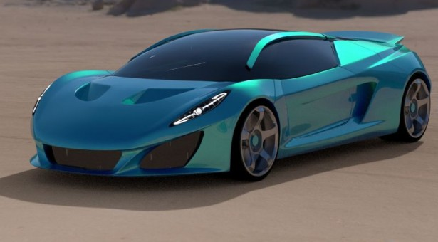 Superautomobil Berus stotku hvata za 2,4 sekunde