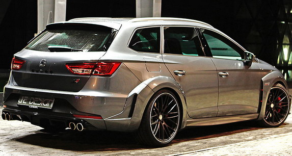 je design seat leon cupra st widebody. Black Bedroom Furniture Sets. Home Design Ideas