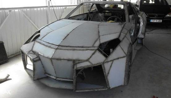 Lamborghini Reventon Replika Na Bazi Toyote Supre Iz