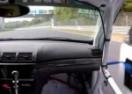 AU, KAKAV UŽAS! Otpala su mu vrata sa automobila na brzini od 280km/h, a onda… (VIDEO)