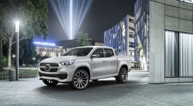 Mercedes-Benz koncept X-Klasa