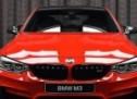 BMW M3 u Ferrari crvenoj boji
