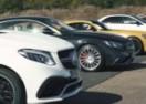 BRZINA I BRUTALNA SNAGA: Ultimativna trka svih MERCEDESOVIH AMG modela! (VIDEO)