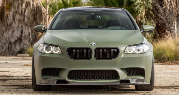 BMW M5 Military Green (2)
