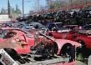 GROBLJE CRVENIH FURIJA: Evo kako izgleda Ferrari auto-otpad! (VIDEO)