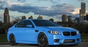 Yas Marina Blue BMW M5 F10