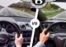 Trka dva brza Bentley-a: Continental GT V8 vs Bentayga (VIDEO)