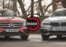OBRAČUN NJEMAČKIH TITANA: BMW 520D protiv MERCEDES-BENZ E220D modela! (VIDEO)