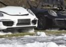 KOLATERALNA ŠTETA: 12 Porschea nastradalo u požaru u Hamburgu! (VIDEO)