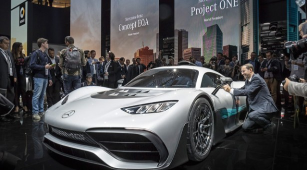 IAA 2017 – Mercedes predstavio Mercedes-AMG Project One