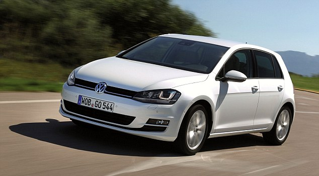 The Volkswagen Golf is Ireland's best selling car of 2013.