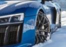 Audi R8 V10 Plus je idealan sportaš za snijeg (VIDEO)