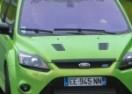 Zeleni Ford Focus RS Mk2 na 'Zelenom paklu' (VIDEO)