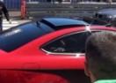 Scena iz Monaka: Pred policajcem palio gume Mercedesa C63 AMG pa mu presjelo! (VIDEO)