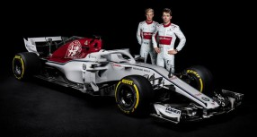 FORMULA 1 2018: Alfa Romeo Sauber C37