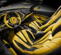 Enterijer modela Ferrari 488 Spider u izdanju Carlex Design