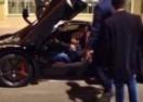 KAKAV SRETNIK: Klinac upalio i turirao nekoliko milijuna eura vrijedan Ferrari LaFerrari Felipea Masse! (VIDEO)