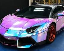 Hologramska folija čini da ovaj Lamborghini Aventador izgleda animirano