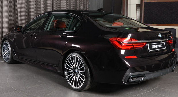 Ruby Black Metallic BMW 730Li (3)