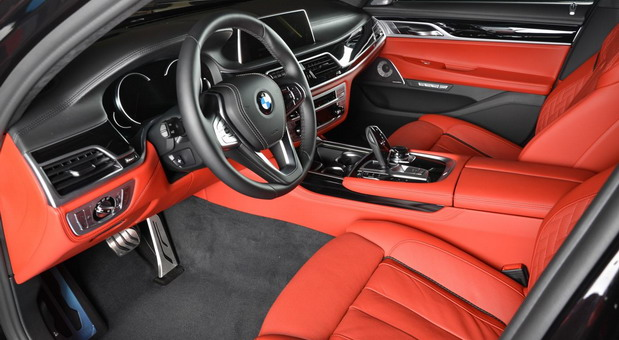 Ruby Black Metallic BMW 730Li (4)