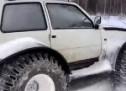 Sibirsko hibridno čudovište: Automehaničar 'ukrstio' Ladu Oku i Kamaz (VIDEO)