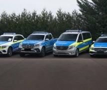 LUKSUZNA PATROLA: Evo kako Mercedes zamišlja policijske automobile