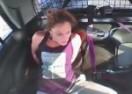 Uhapšena pljačkašica se oslobodila lisica, pa ukrala policijski auto (VIDEO)