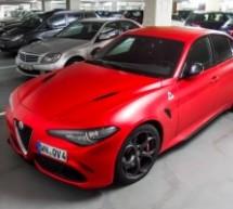 Giulia Quadrifoglio izgleda impresivno u mat crvenoj