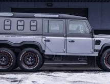 Chelsea Truck Company Civilian 6×6 i Jeep Wrangler Black Hawk Edition
