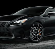 Lexus RC F Sport Black Line