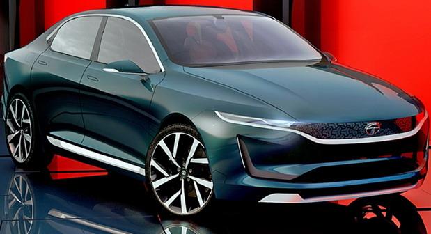 Tata EVision sedan concept (1)