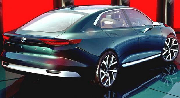 Tata EVision sedan concept (2)