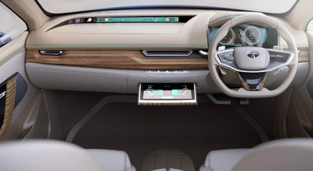 Tata EVision sedan concept (4)
