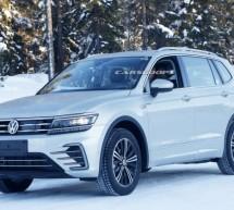 VW Tiguan GTE – nove špijunske fotografije