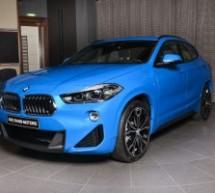 X2 SDRIVE20I M Sport izgleda savršeno u plavoj boji