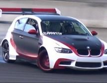 BMW Serije 1 pripremljen za drift ima 530 KS (VIDEO)