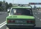 NA ZADNJEM SJEDIŠTU MOGA AUTA: Ovako izgleda kad provozate KRAVU u 'ladi' (VIDEO)
