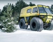 ŠUMSKI RENDŽER: Upoznajte rusko terensko vozilo Lesnik (VIDEO)