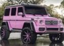 Barbika bi se oduševila: Mačo terenac u pink izdanju (FOTO)